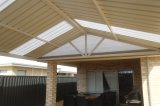 gable patio polycarbonate infill